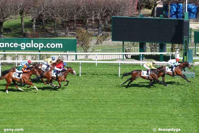 26/03/2019 - Saint-Cloud - Prix du Languedoc : Arrivée