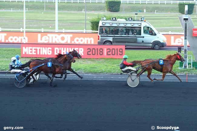 13/12/2018 - Vincennes - Prix de Jussy : Arrivée