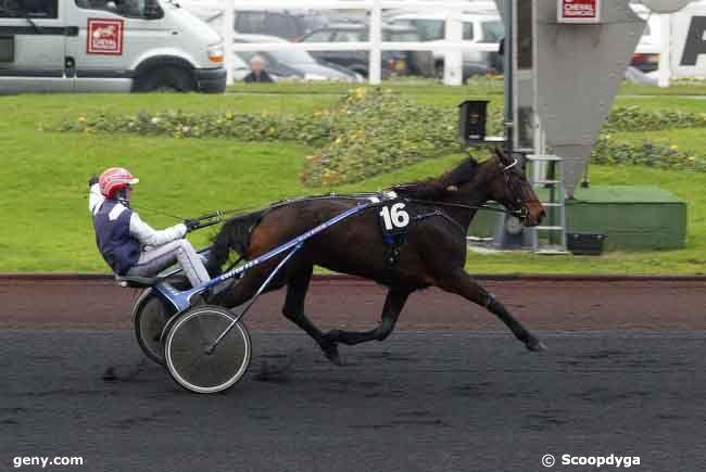 14/12/2008 - Vincennes - Prix d'Amboise : Arrivée