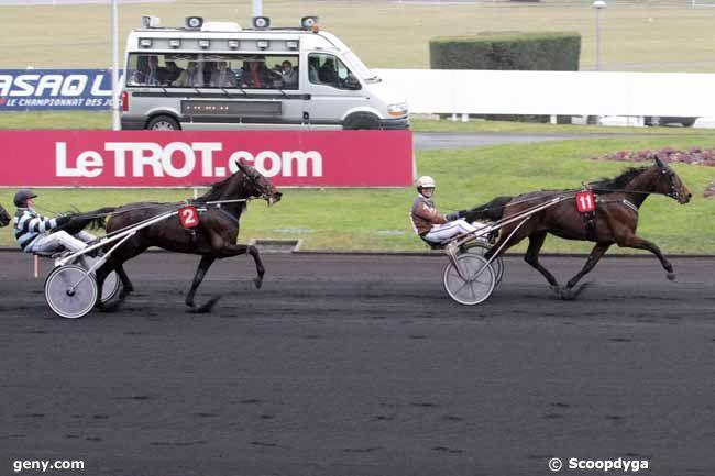 17/02/2015 - Vincennes - Prix de Fontainebleau : Arrivée