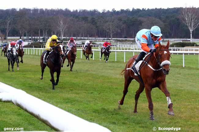 13/03/2018 - Fontainebleau - Prix du Conseil Municipal de Dammarie-les-Lys : Arrivée