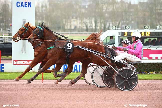 15/03/2019 - Caen - Prix de Saint-Wandrille : Arrivée