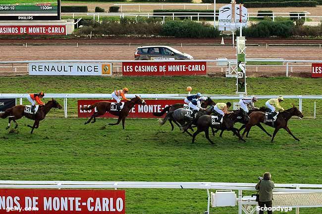 26/01/2010 - Cagnes-sur-Mer - Prix Charles Gastaud : Arrivée