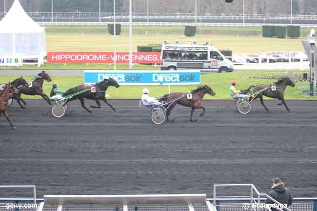 27/01/2011 - Vincennes - Prix de La Thiérache : Arrivée