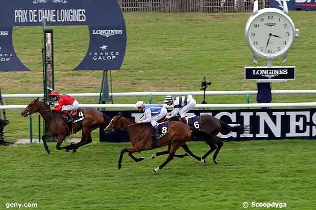 12/06/2011 - Chantilly - Prix de Diane Longines : Arrivée