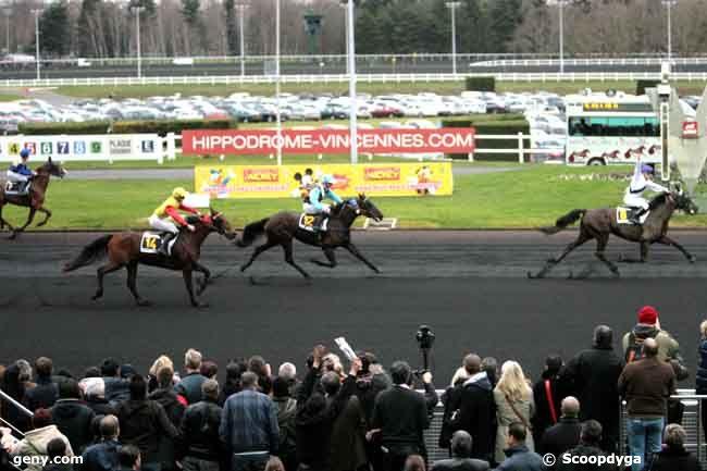 22/01/2012 - Vincennes - Prix de Cornulier : Arrivée