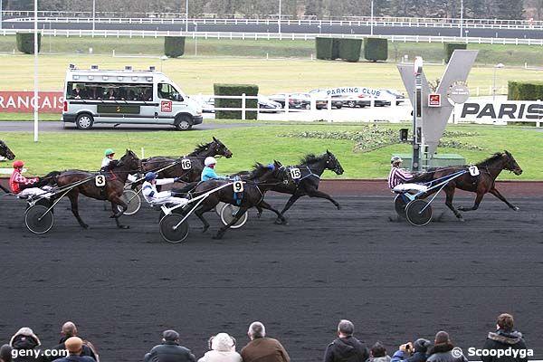 25/12/2008 - Vincennes - Prix de Craon : Arrivée