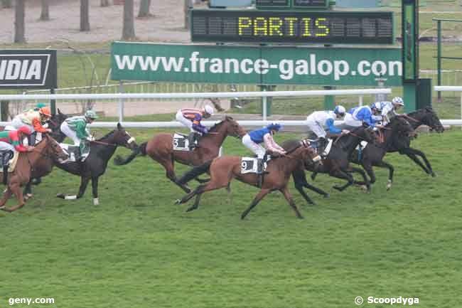 19/03/2011 - Saint-Cloud - Prix des Hauts-de-Seine : Arrivée