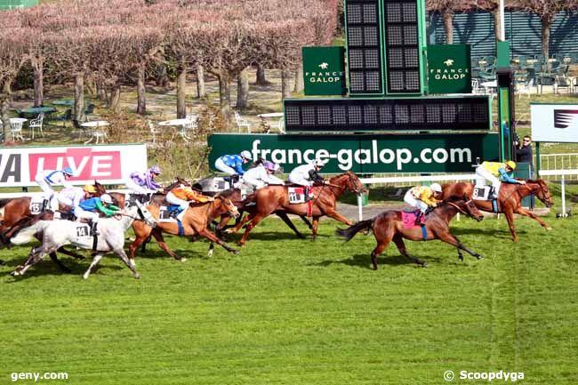 11/03/2014 - Saint-Cloud - Prix du Pays Basque : Arrivée
