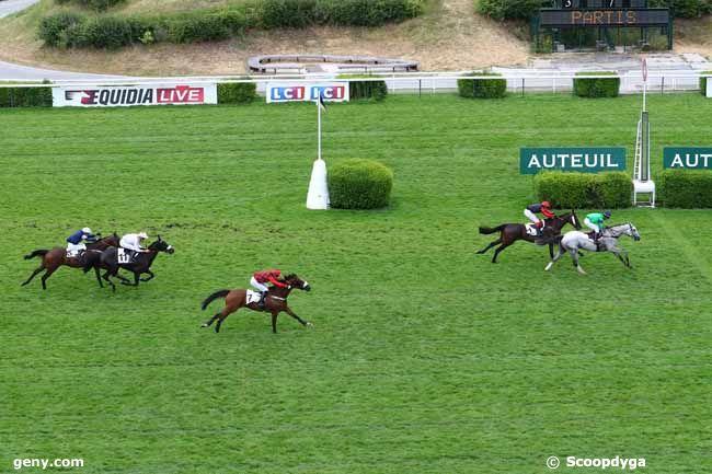 27/06/2017 - Auteuil - Prix Chinco : Arrivée