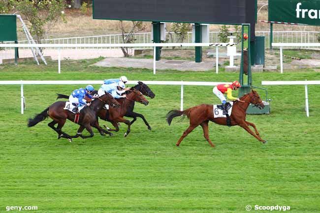 11/10/2018 - Saint-Cloud - Prix Barquette : Result