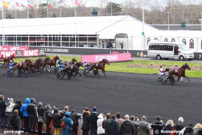 26/01/2019 - Vincennes - Prix du Luxembourg : Arrivée