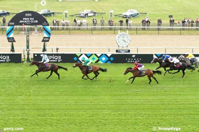 05/06/2016 - Chantilly - Prix du Jockey Club : Arrivée