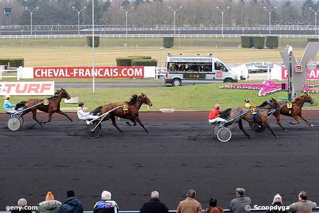 27/01/2009 - Vincennes - Prix de Vittel : Arrivée