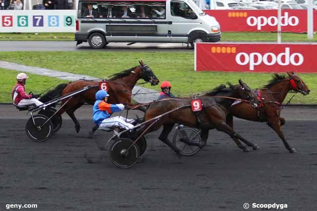 31/01/2016 - Vincennes - Prix Jean René Gougeon : Arrivée