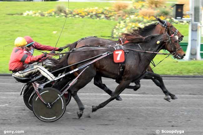 10/11/2016 - Vincennes - Prix Marcel Laurent : Arrivée