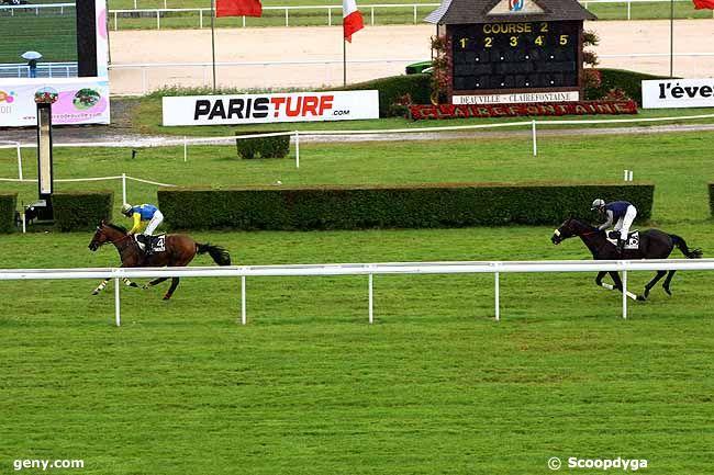 07/07/2009 - Clairefontaine-Deauville - Prix Léopold d'Orsetti : Arrivée