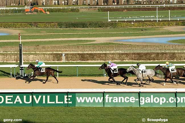 23/12/2009 - Deauville - Prix du Pays d'Ouche : Arrivée