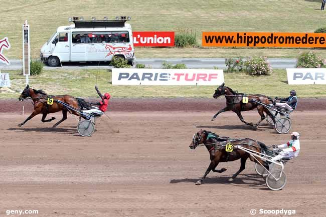 17/06/2015 - Reims - Grand National du Trot Paris-Turf : Arrivée