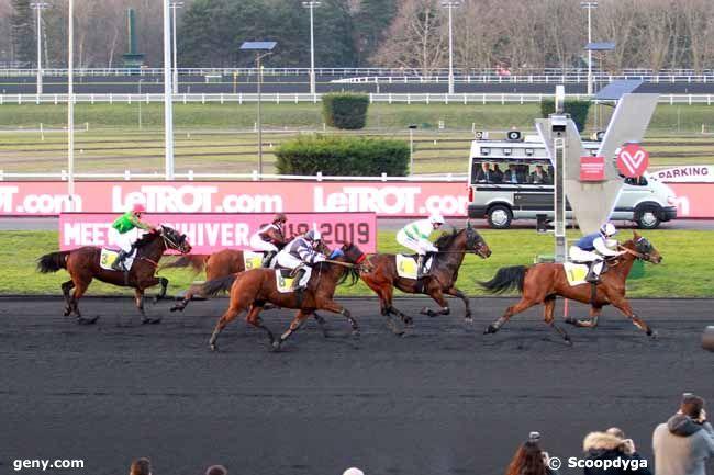 12/02/2019 - Vincennes - Prix de Caussade : Arrivée