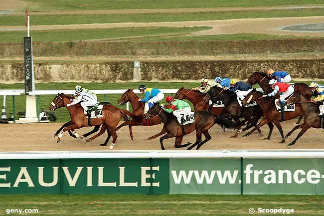 08/12/2010 - Deauville - Prix Lyphard : Arrivée