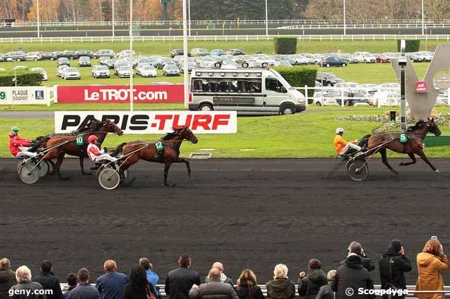 06/12/2015 - Vincennes - Prix de l'Eure : Arrivée