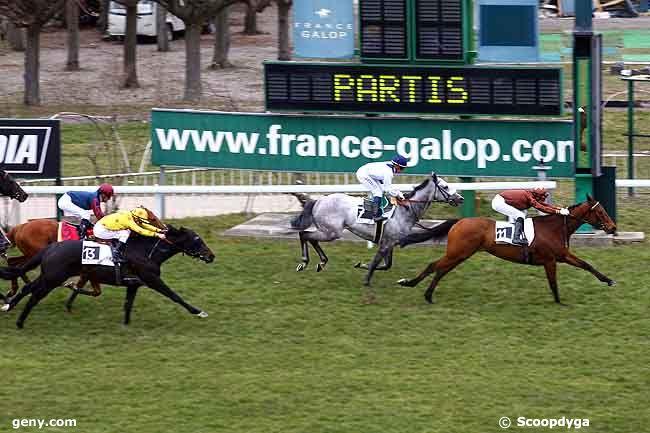 13/03/2010 - Saint-Cloud - Prix Teddy : Arrivée