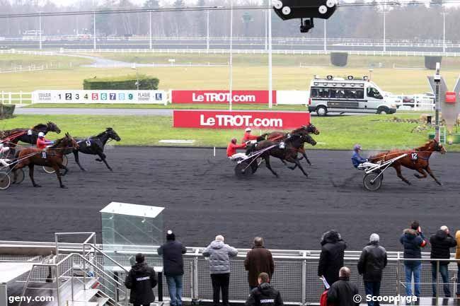 07/01/2017 - Vincennes - Prix de Breteuil : Arrivée