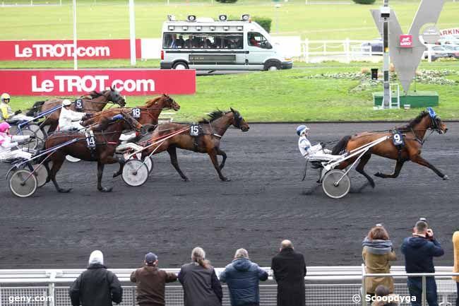 12/01/2016 - Vincennes - Prix du Limousin : Arrivée