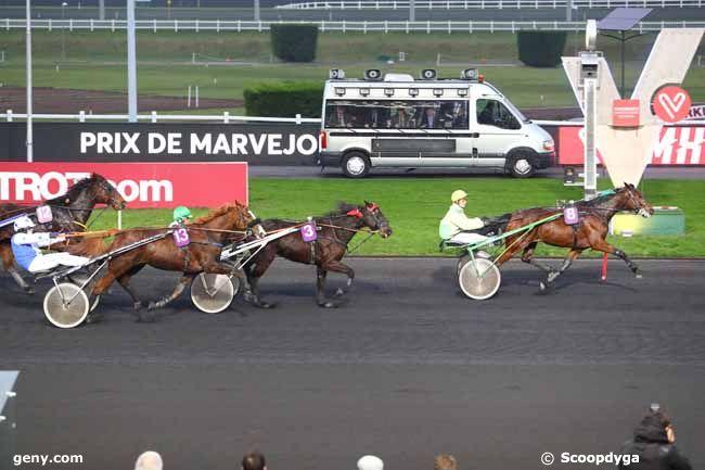 12/01/2018 - Vincennes - Prix de Marvejols : Arrivée