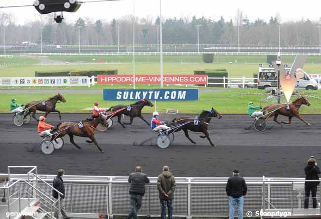 08/01/2013 - Vincennes - Prix du Limousin : Arrivée