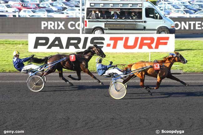18/02/2018 - Vincennes - Critérium des Jeunes - Prix Comte Pierre de Montesson : Arrivée