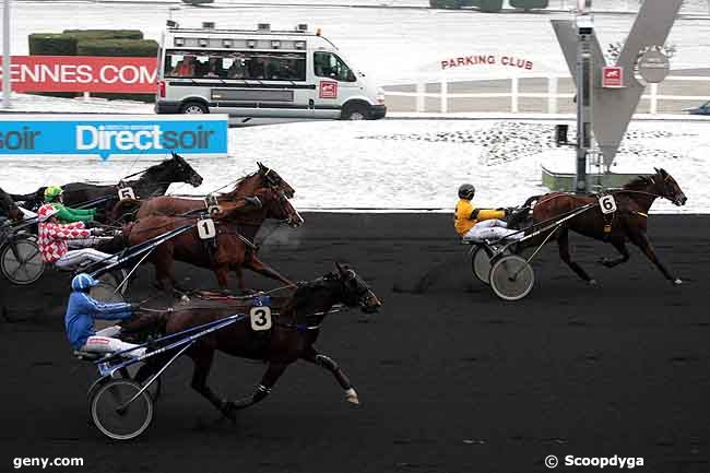 02/12/2010 - Vincennes - Prix des Landes : Arrivée