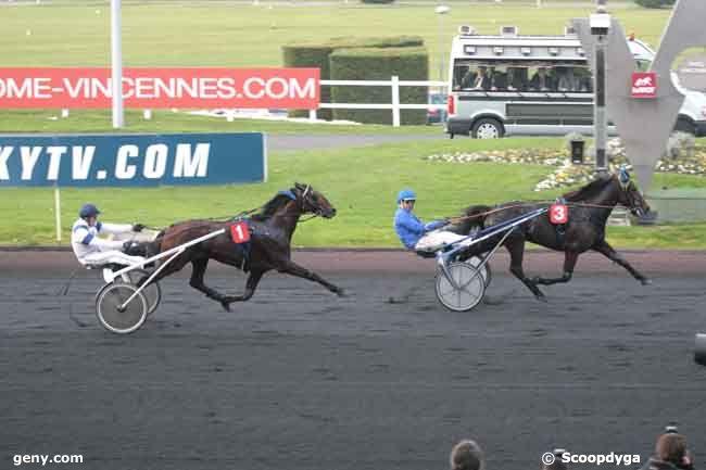 10/11/2011 - Vincennes - Prix Marcel Laurent : Arrivée