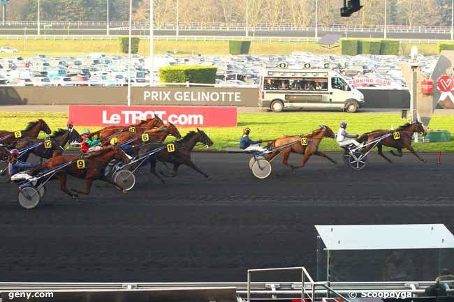 14/01/2018 - Vincennes - Prix Gélinotte : Arrivée