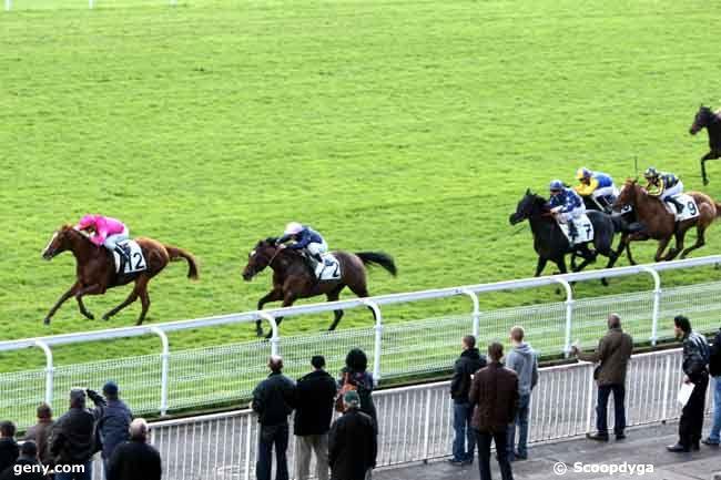 06/11/2012 - Maisons-Laffitte - Prix du Rhin : Arrivée