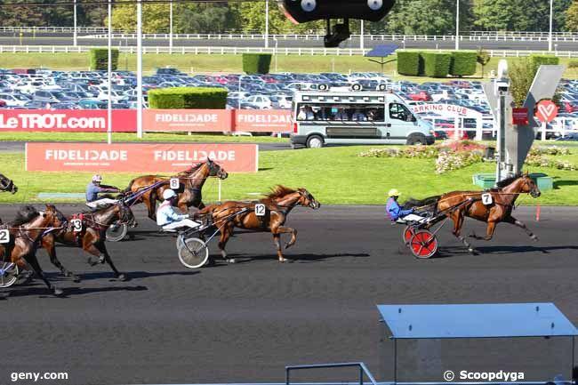 24/09/2017 - Vincennes - Prix de Clermont-Ferrand : Arrivée