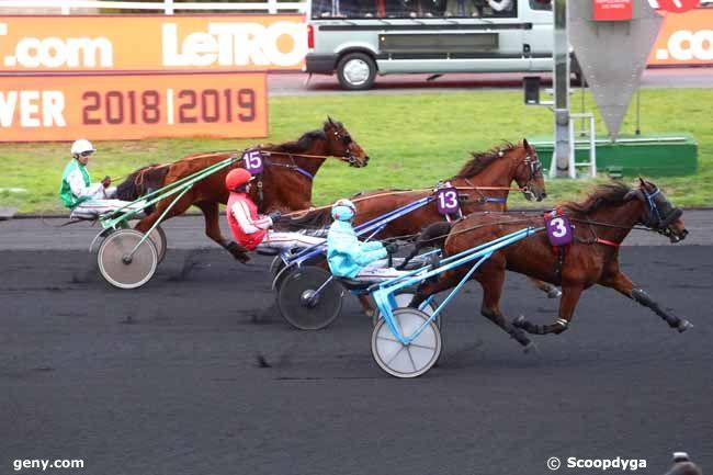 11/02/2019 - Vincennes - Prix de Darnetal : Result