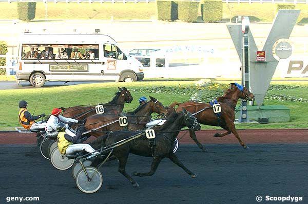 12/12/2007 - Vincennes - Prix Poitou-Charentes : Arrivée