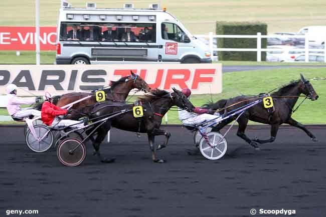 02/01/2011 - Vincennes - Prix de Bourgogne : Arrivée