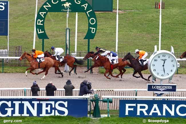 13/02/2018 - Chantilly - Prix du Lay Lenormand : Arrivée