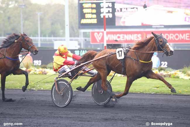 16/04/2019 - Vincennes - Prix Clorinde : Arrivée