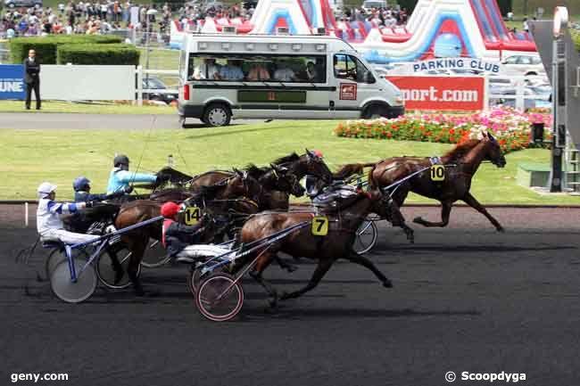 13/06/2009 - Vincennes - Prix de Grosbois-Trophée Eric Beyersdorf : Arrivée