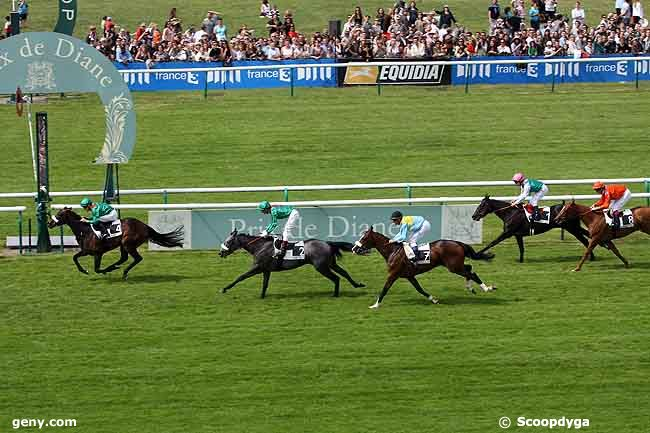 13/06/2010 - Chantilly - Prix de Diane : Arrivée