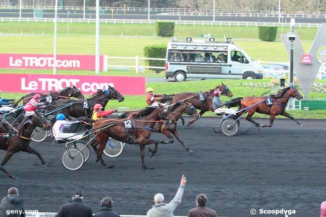09/01/2016 - Vincennes - Prix de Breteuil : Arrivée