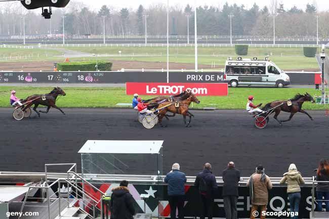 12/01/2018 - Vincennes - Prix de Mauriac : Arrivée