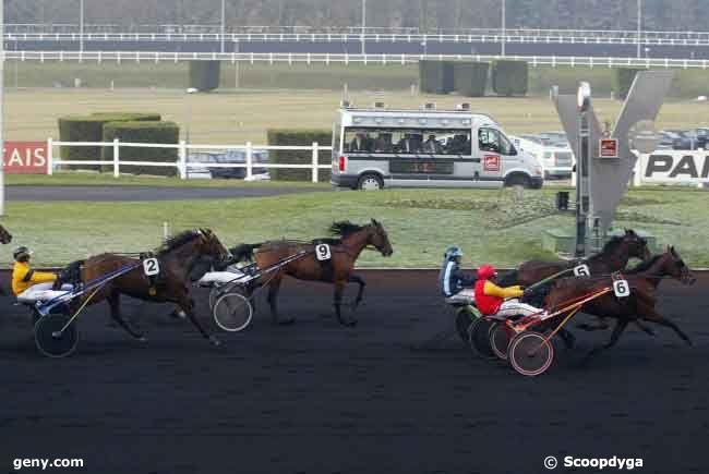 04/01/2009 - Vincennes - Prix de Lille : Arrivée