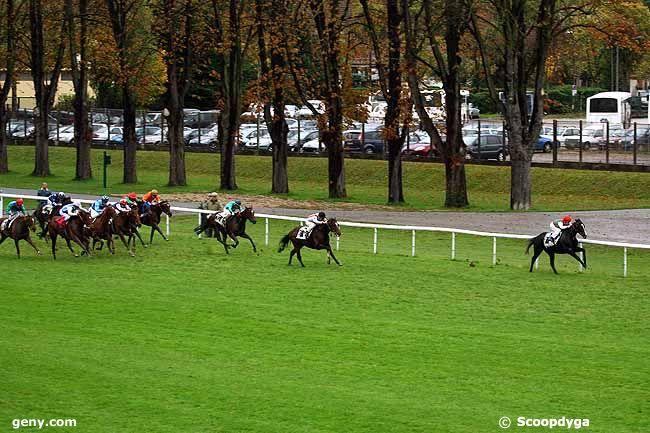 03/11/2009 - Maisons-Laffitte - Prix du Brionnais : Arrivée