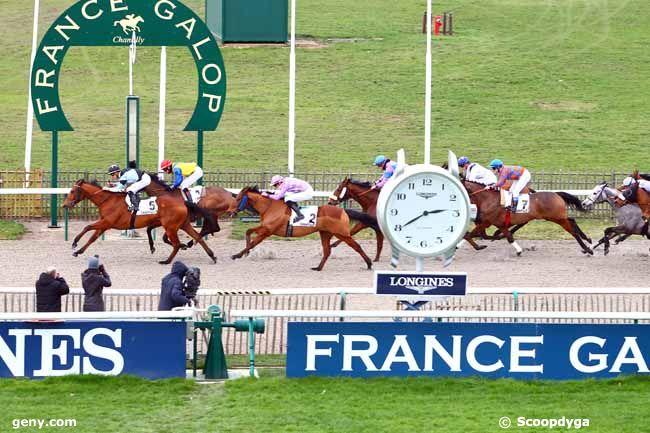 13/02/2018 - Chantilly - Prix de la Route des Grands Chênes : Arrivée