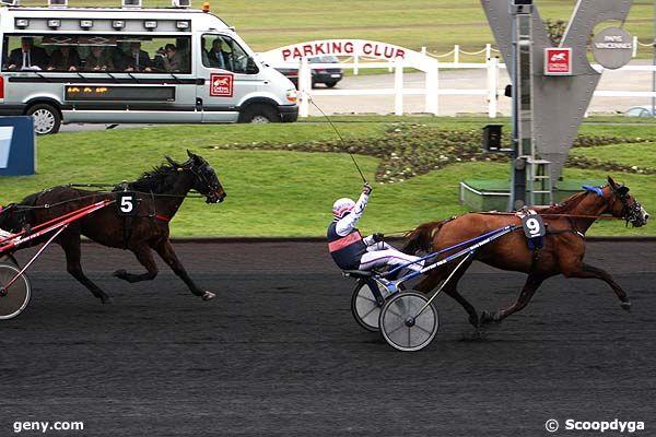 24/02/2011 - Vincennes - Prix du Cantal : Arrivée